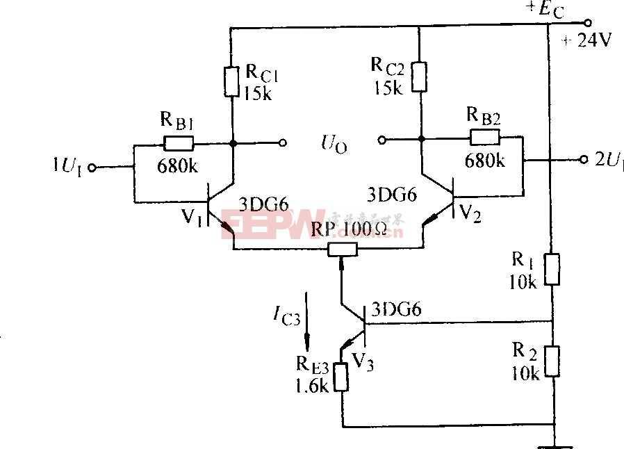 深电流负反馈差动放大器图