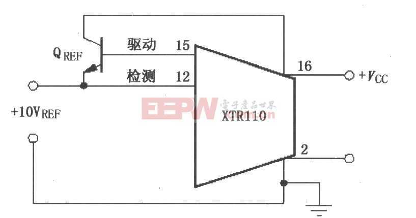 XTR110扩大驱动电流电路图