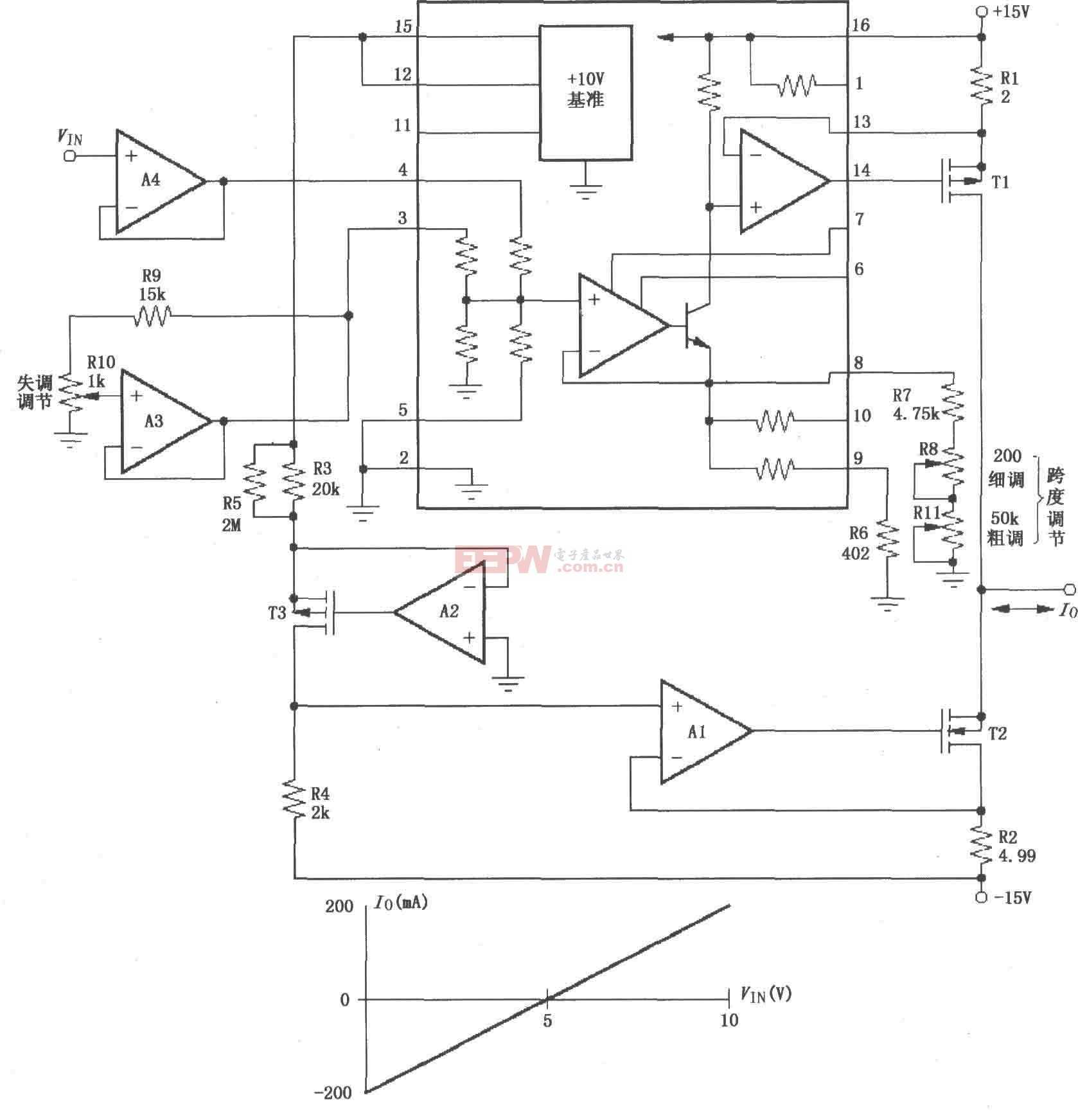 ±200mA电流泵电路图