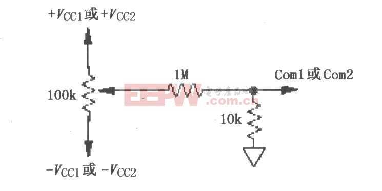 ISO103的失调电压调整电路图