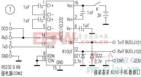 自制诺基亚8210传输线,增加中文电话簿