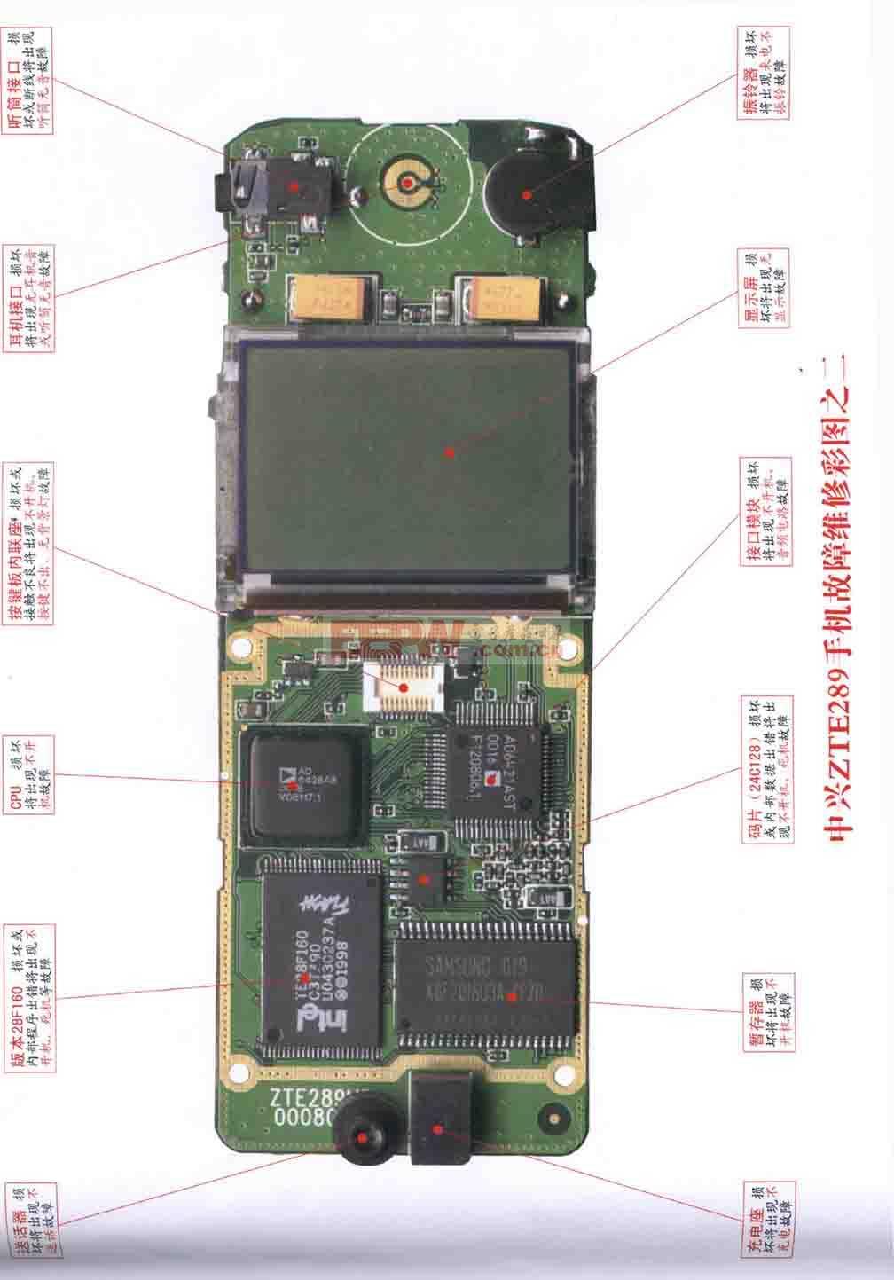 中兴ZTE289手机维修 图2
