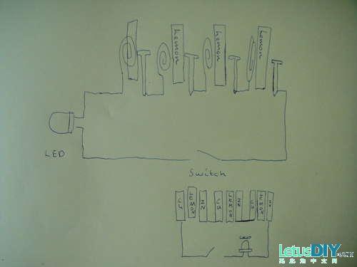 diy 柠檬电池发电的做法(图解)