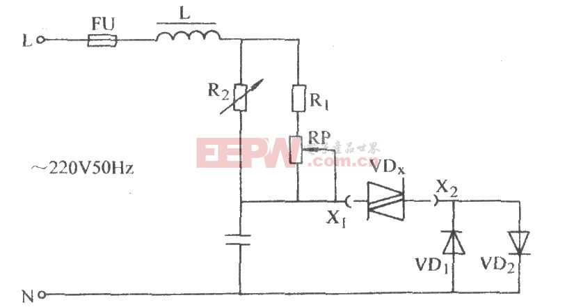 双向二极管质量判断电路图