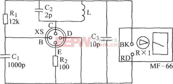 晶体管fT挑选电路图