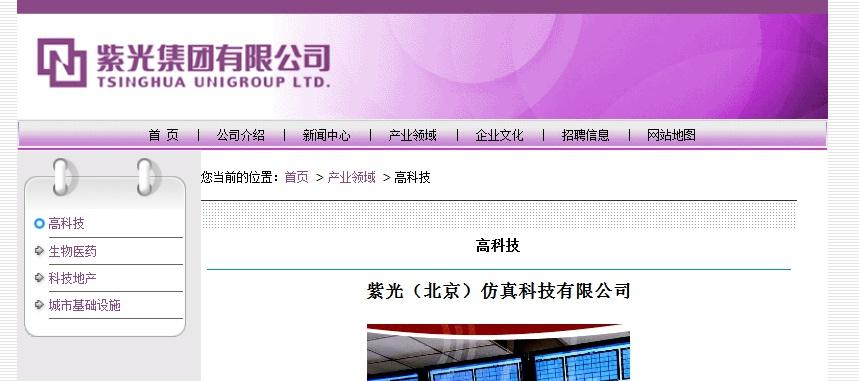清华紫光的业务分布