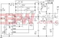 DTMF信号无线遥控电路