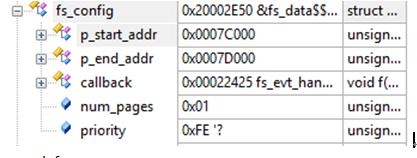 NRF52832---FLASH存储用户数据(掉电保存)