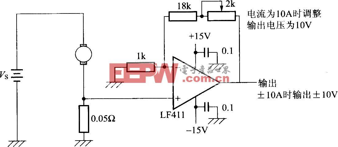 电流检测电路-其它类别电路图-电子产品世界