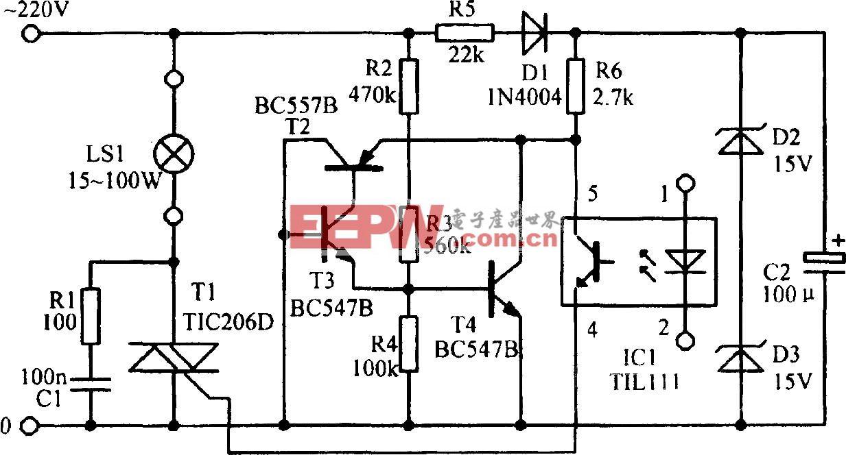 LED信号放大电路