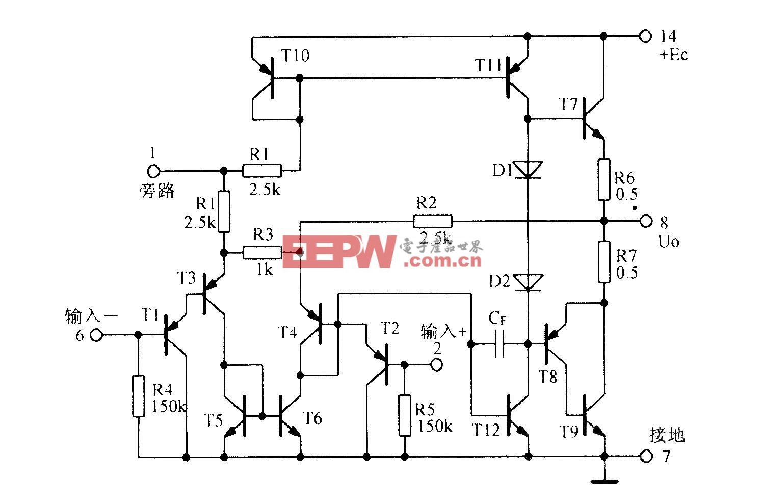 集成音频功率放大电路LM380