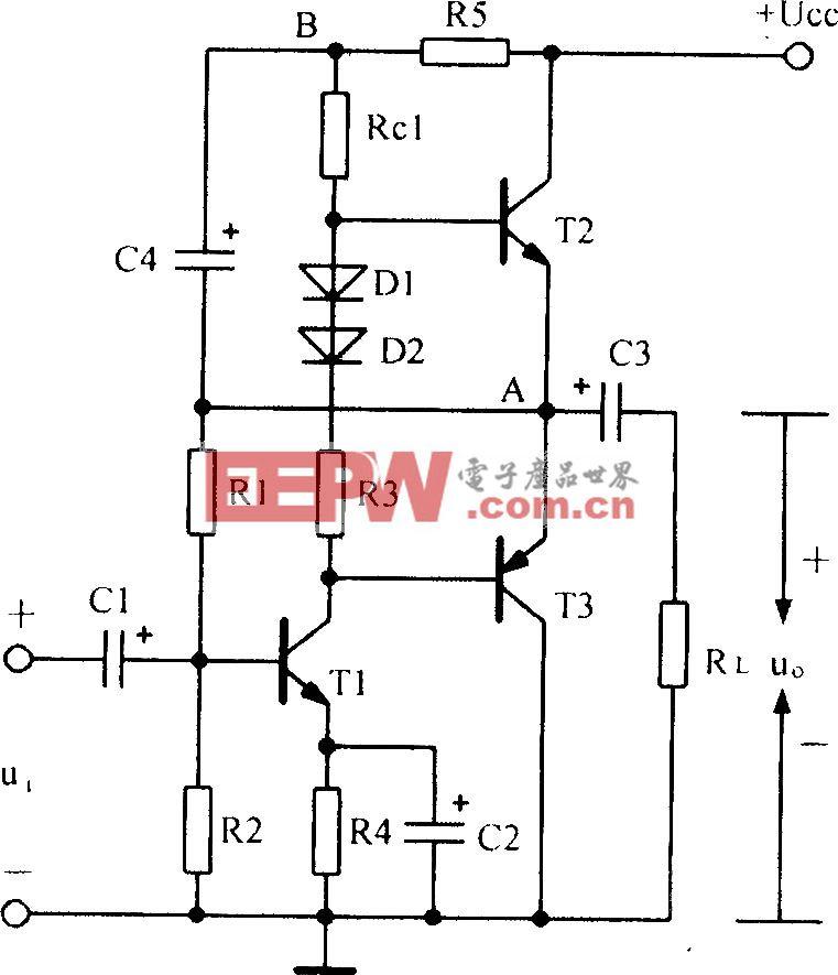 实用互补对称电路