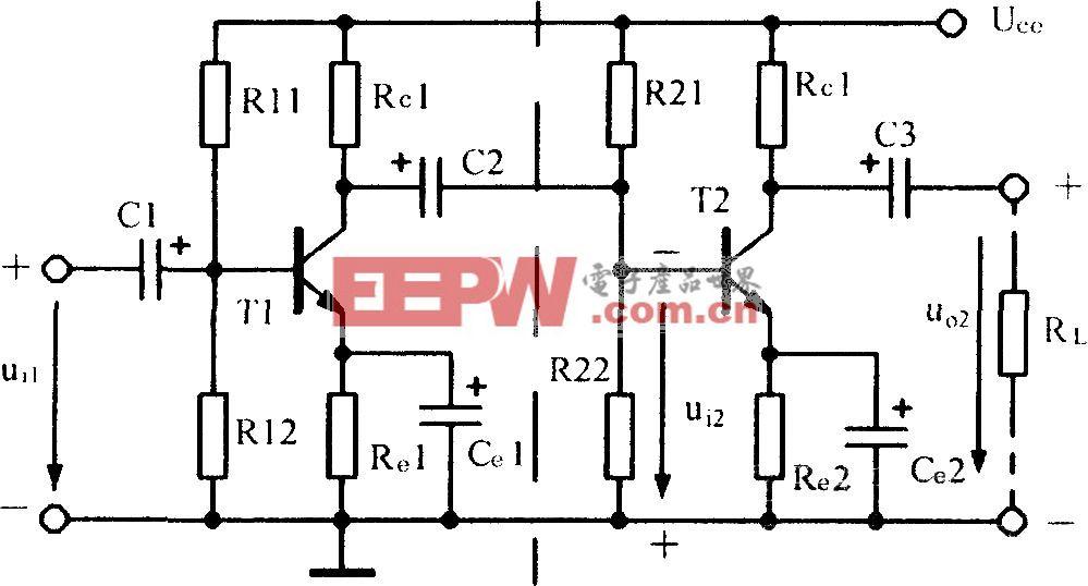 阻容耦合放大电路
