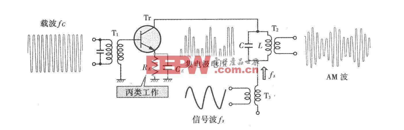 集电极调制电路
