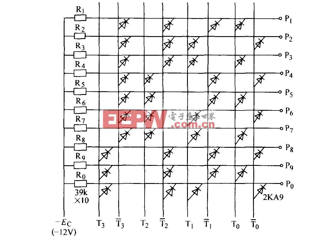 二极管与门译码电路(二)
