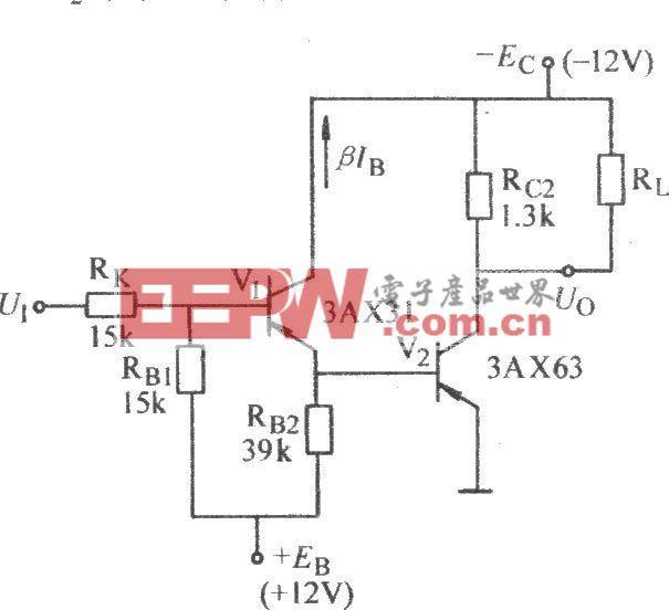 推动接电源负载的大电流非门