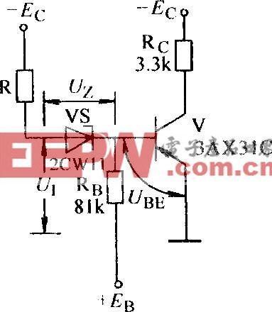 具有前级门电阻的门限非门电路