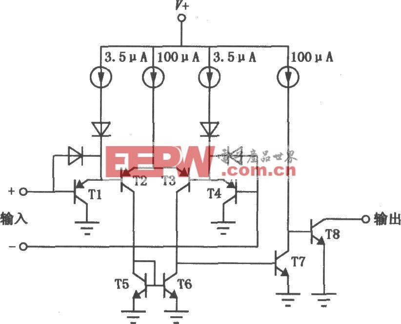 LM139/239/339低功耗低失调电压比较器