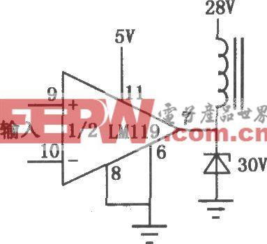 LM119/219/319双精密电压比较器