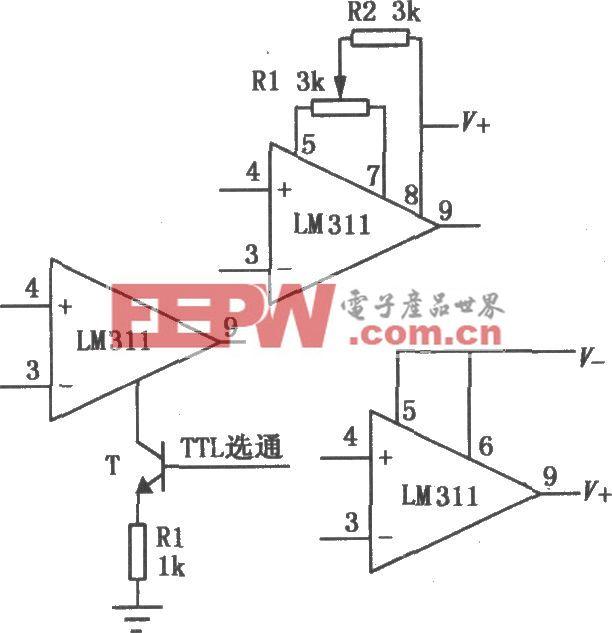 LM111/211/311单电压比较器