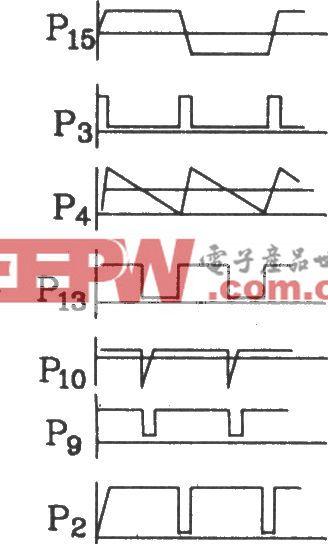 可控硅移相触发器KJ006外电路接线图