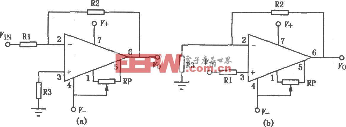 μA741双电源通用型单运放