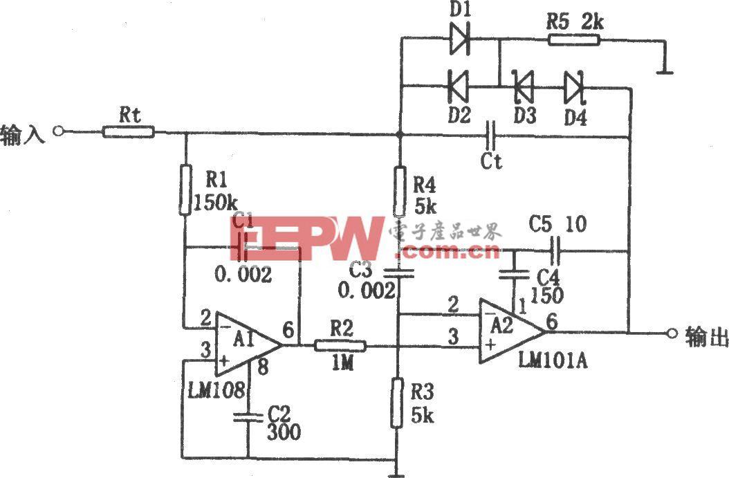 高速积分器(LM101A、LM108)