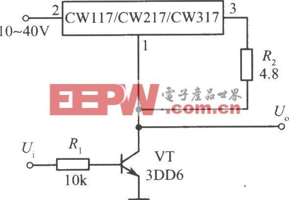 CW117/CW217/CW317构成的高增益放大器