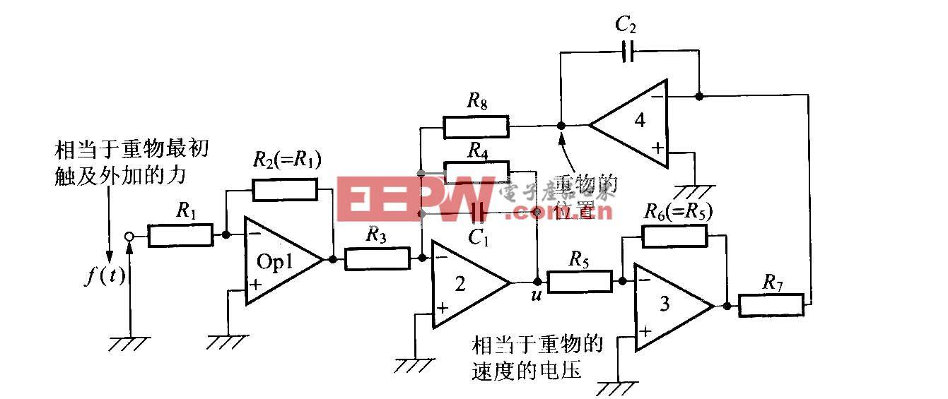 模拟力学系统的电路