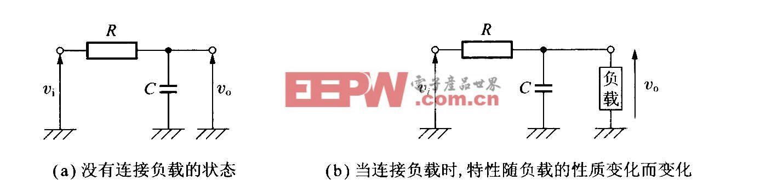 基于RC电路的一次性滤波器