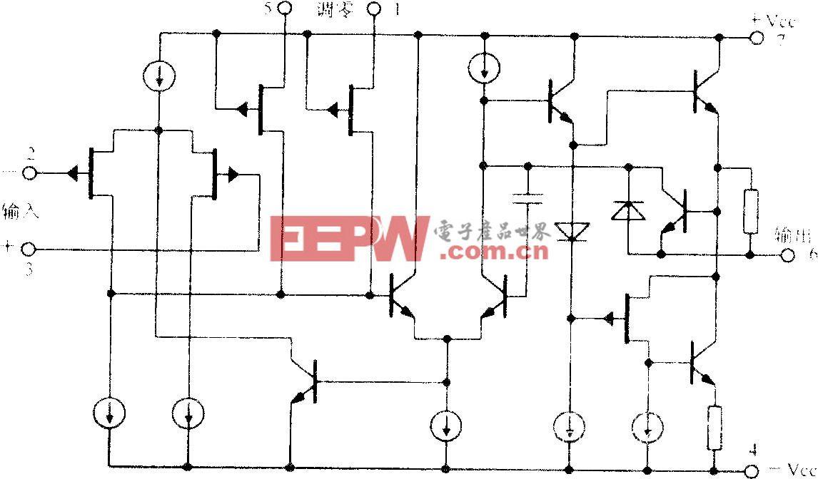 宽带Difet运算放大电路OPA606