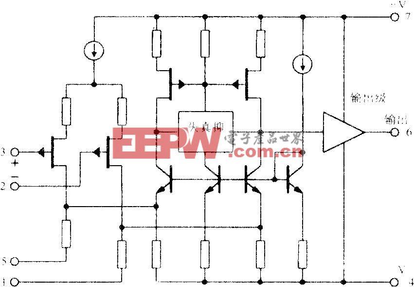 FET输入高保真运算放大电路OPA604