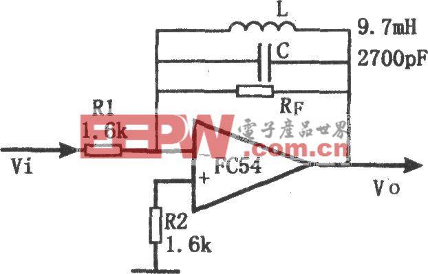 有源窄带滤波器(FC54)