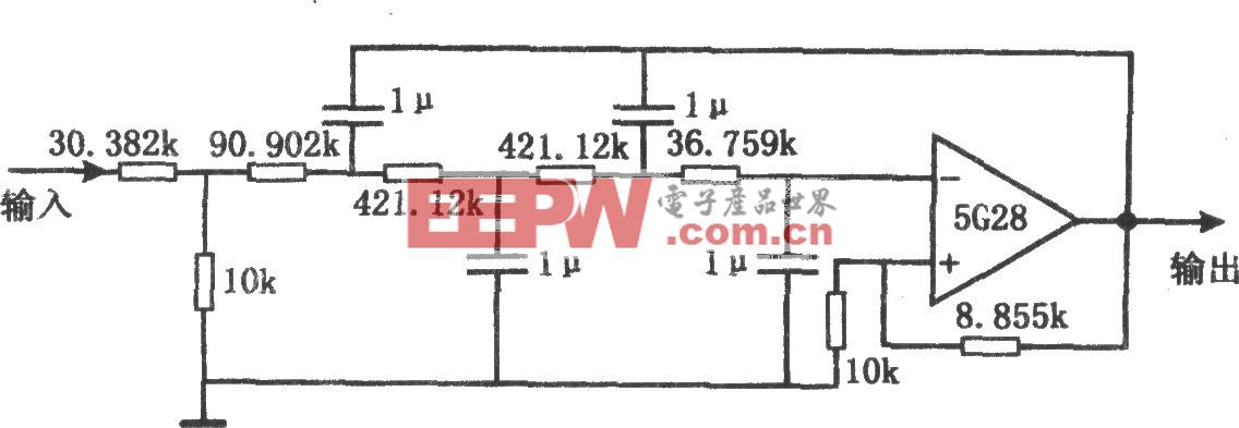 甚低频有源滤波器(5G28)