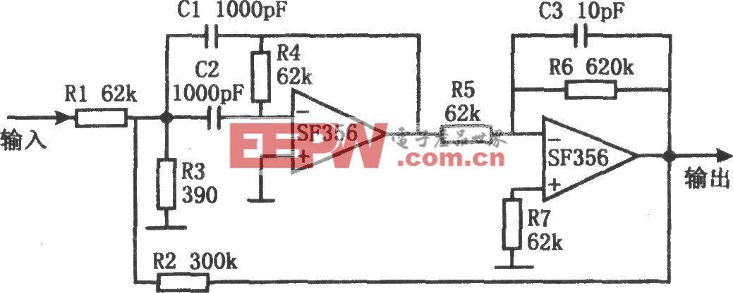 高Q帶通濾波器(SF356)