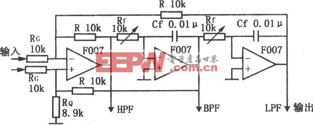 多功能有源滤波器(F007)