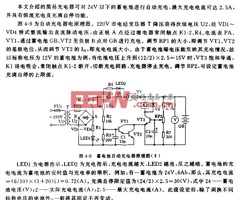蓄电池自动充电器(2)