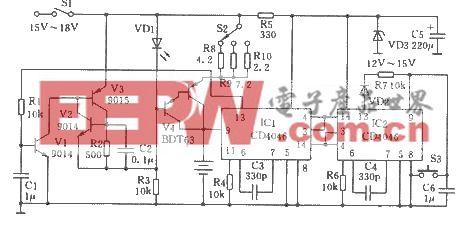镍镍电池快速充电器电路图