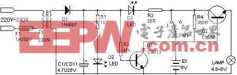 可充电手电筒电路壹(4)