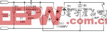 可充电手电筒电路壹(2)