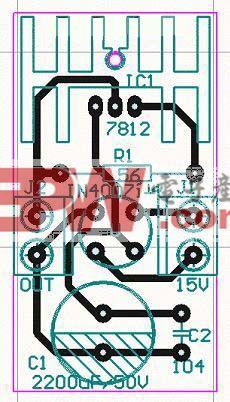 简单充电器电路