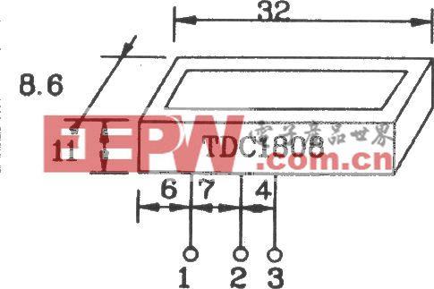 由TDC1808/1809構成射頻單、多通道遙控發射、接收電路圖