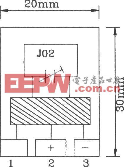 由F03/J02B构成的遥控编码发射、解码接收电路图