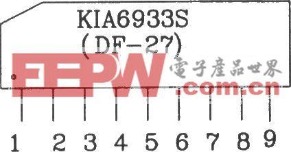 KIA6933S/6957P构成的四动作射频遥控发射、接收电路图
