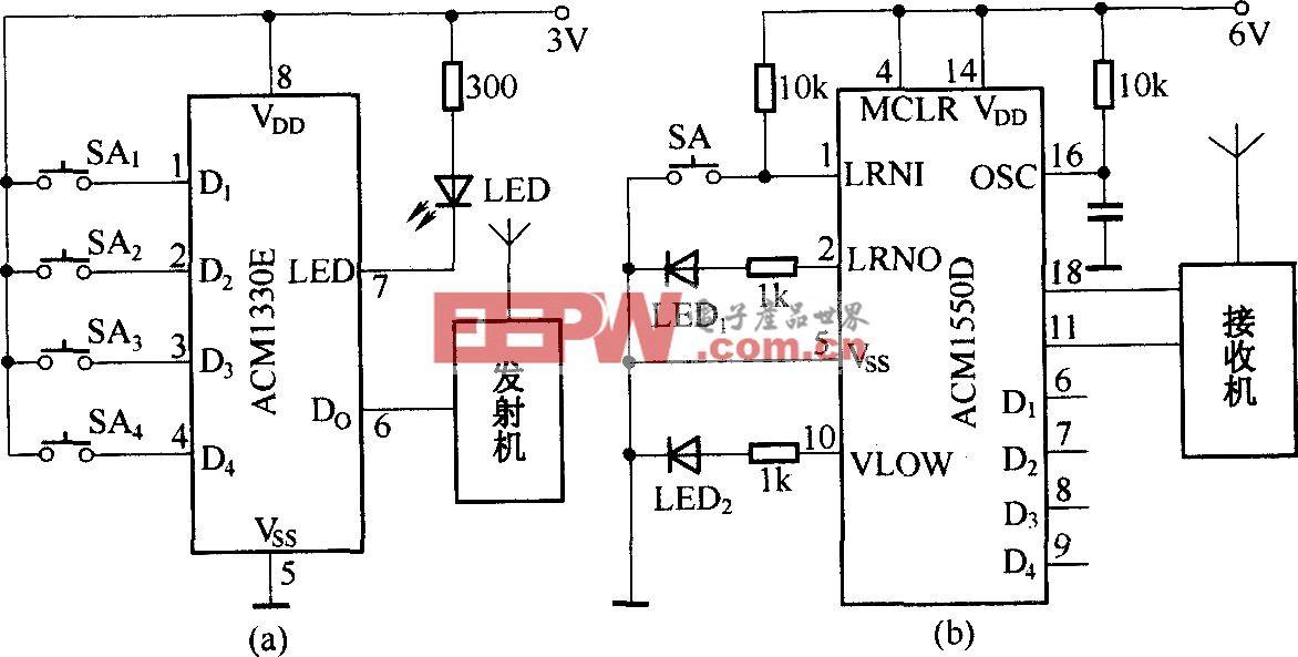 ACMl330E/1550D在无线电发射与接收中的应用