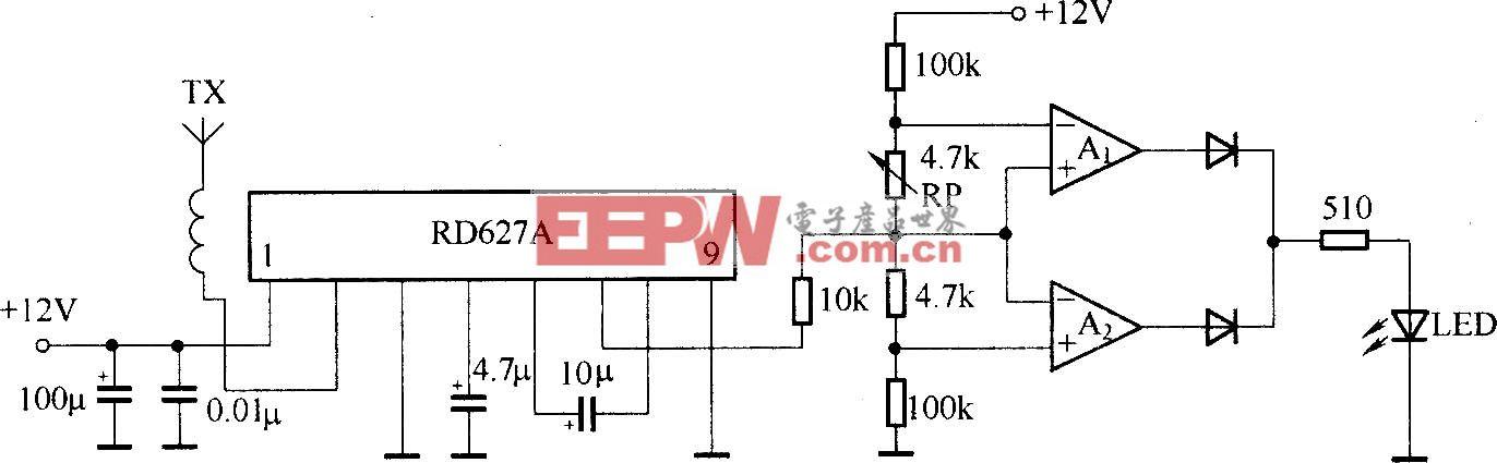 微波传感模块RD627A的应用