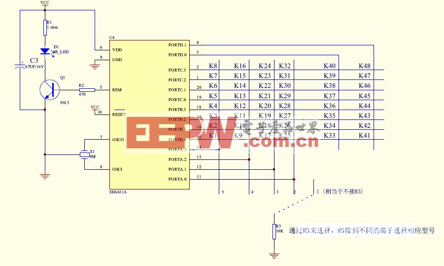 彩電遙控器36