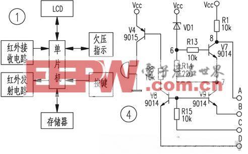 智能型红外遥控器电路设计