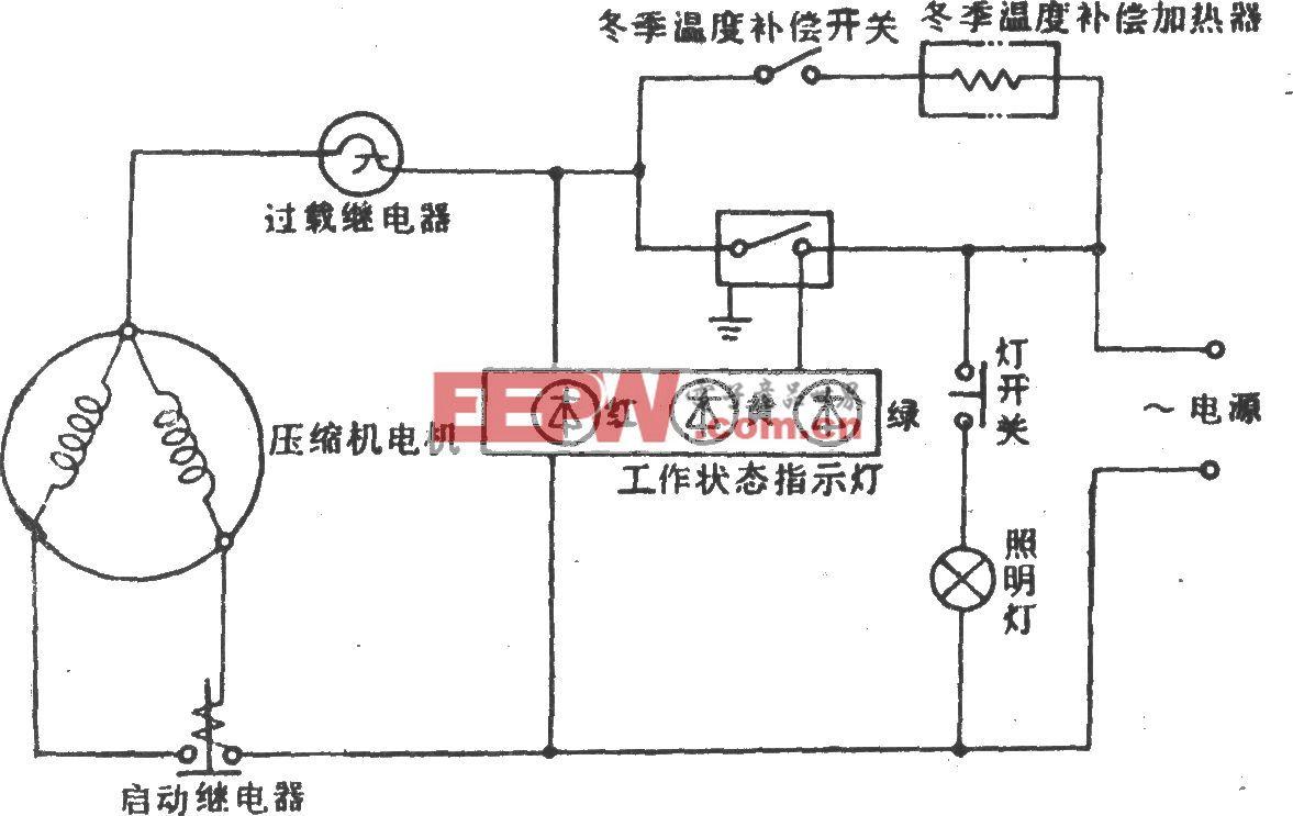 华意-阿里斯顿牌BCD-202电冰箱