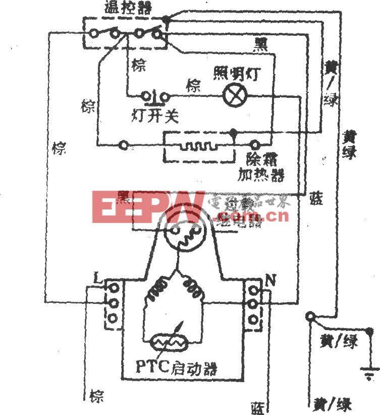 揚子牌BCD-200電冰箱